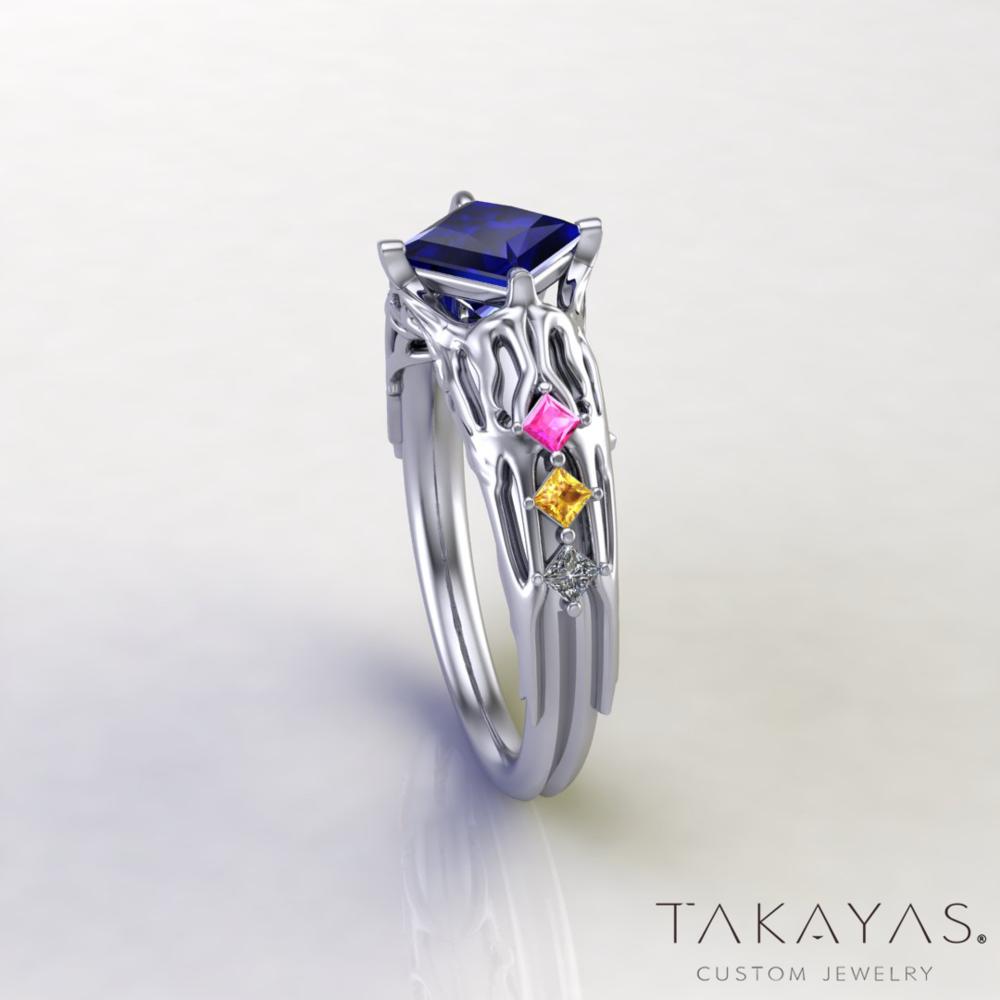 Final-Fantasy-XIII-Lightning-Inspired-Engagement-Ring-2