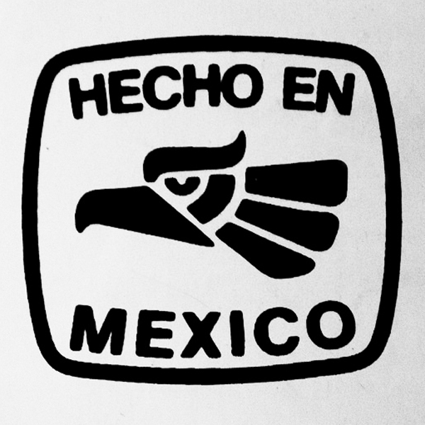 Photograph of Hecho en Mexico eagle, used as inspiration for Jose Luis' custom wedding ring by Takayas