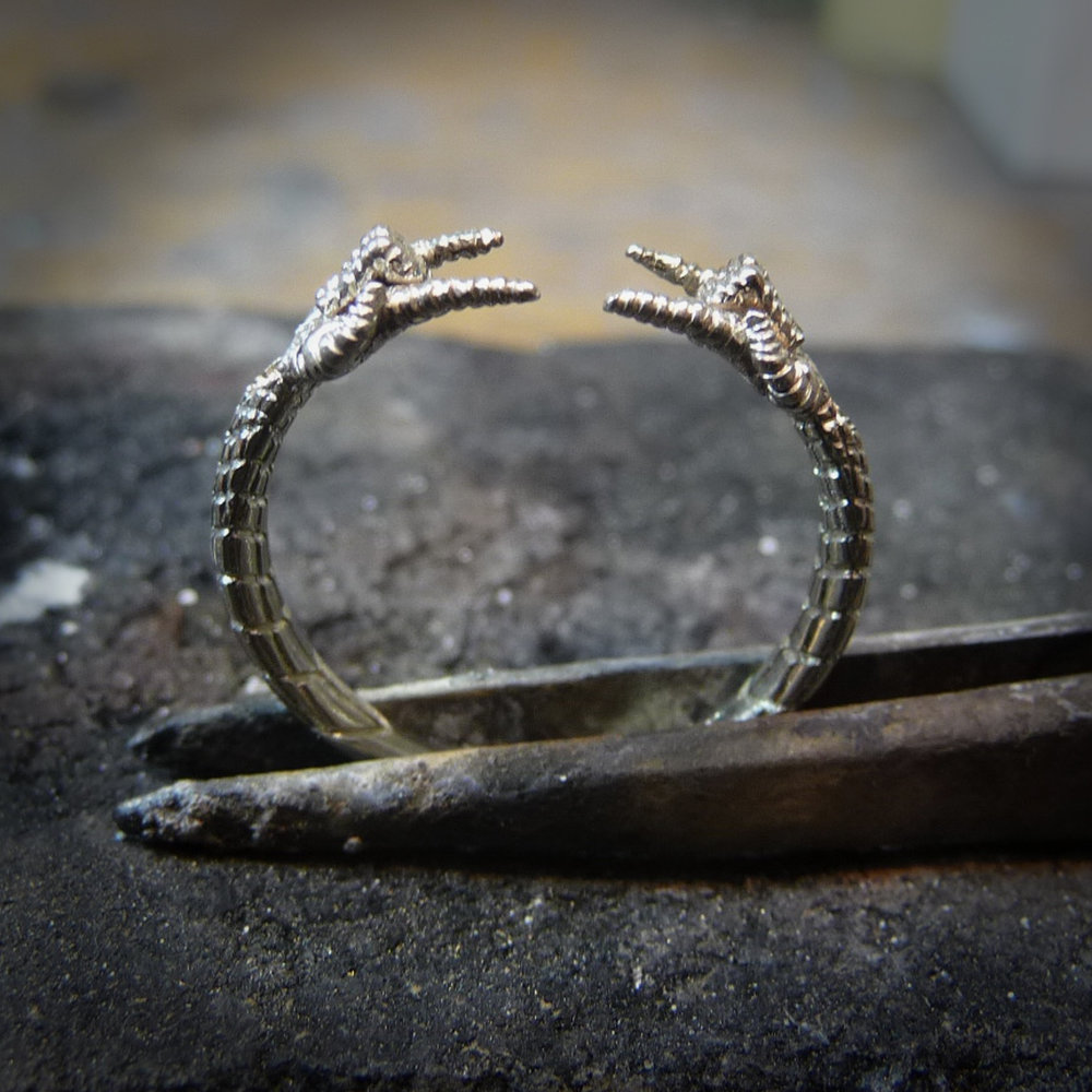 Spider-Man (Spiderman) engagement ring by Takayas creation photo - engraved shank