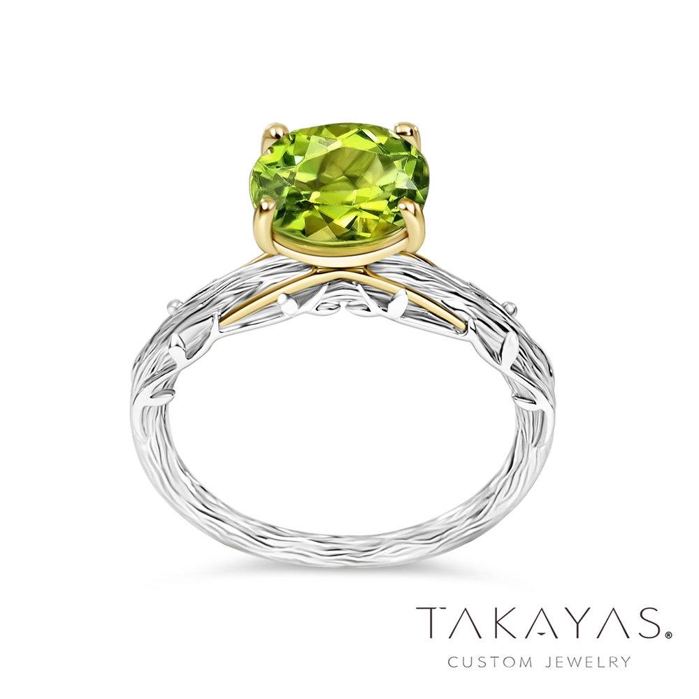 Takayas-Custom-Jewelry-Woodland-Inspired-Wedding-Set