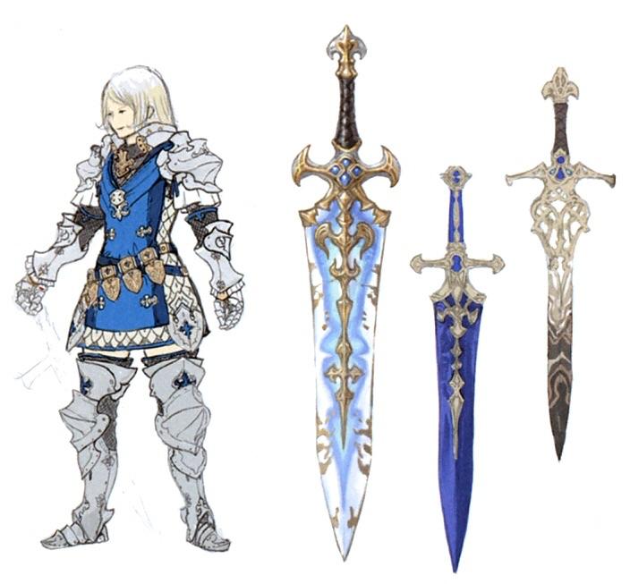 paladin of uldah sword final fantasy