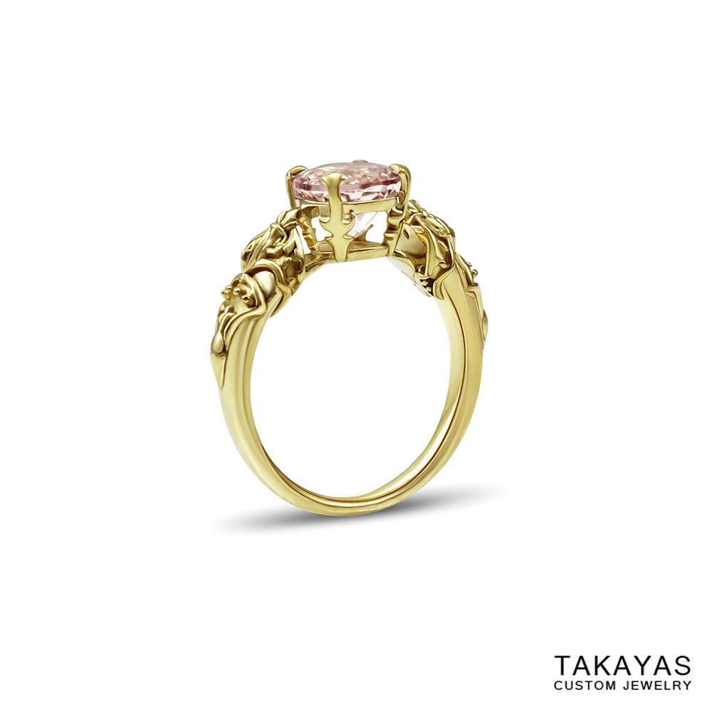 queen nanamo final fantasy engagement ring takayas custom jewelry 1