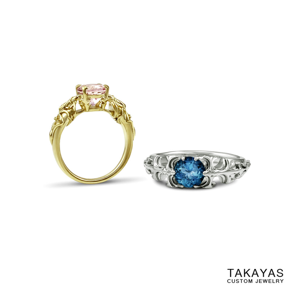 queen nanamo paladin final fantasy wedding rings takayas custom jewelry 1