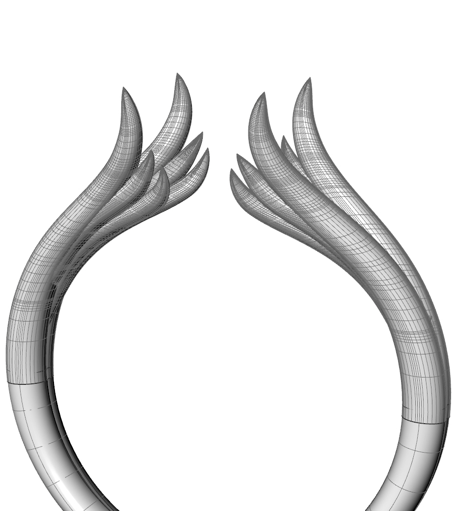 wings render